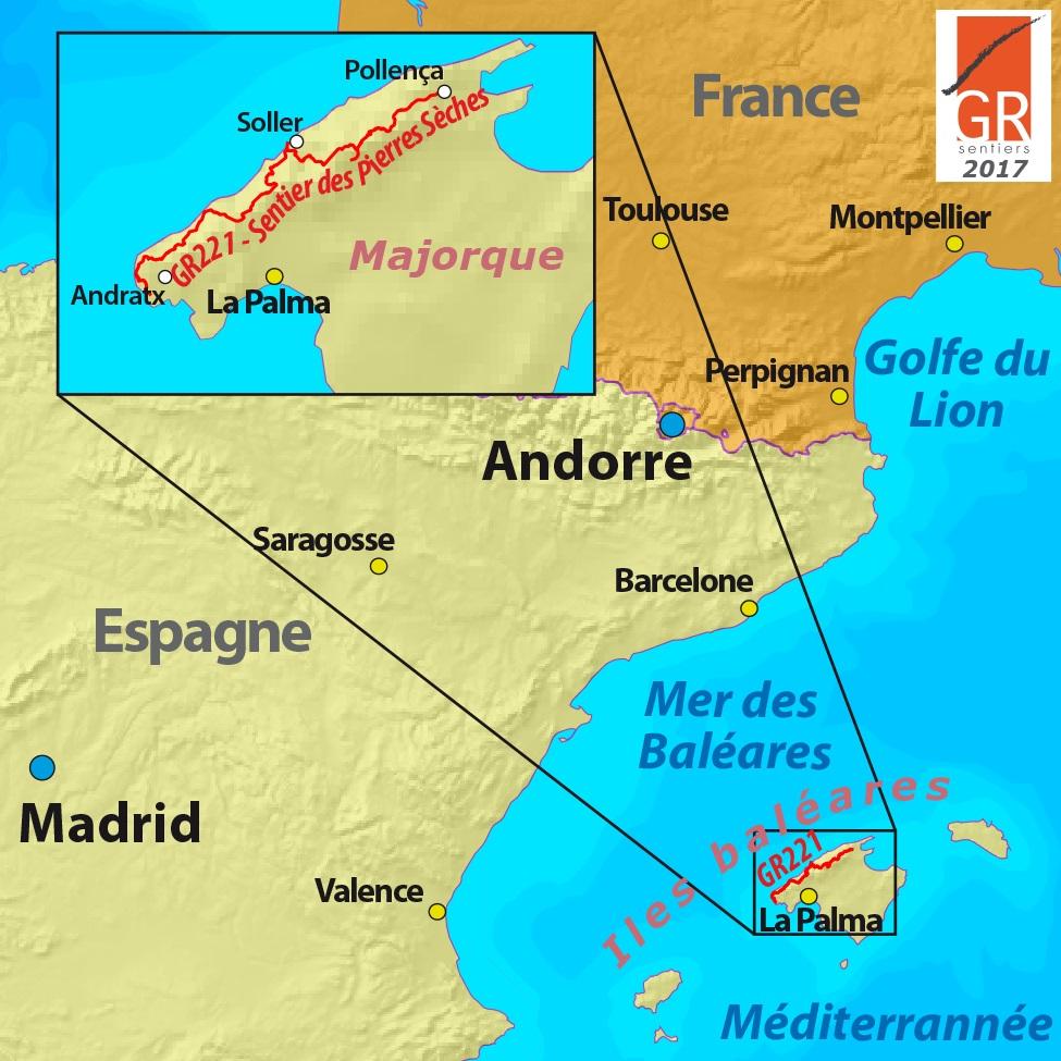 Majorque Les Sentiers De Grande Randonnee Asbl