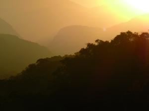 Levé de soleil sur la Yungas