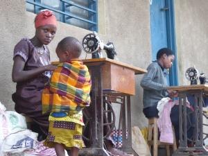 Au marché à Karongi