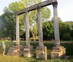 Colonnes romaines de Riez