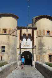 L'entrée fortifiée d'Entrevaux