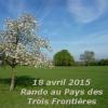 Randonnée au « Pays des Trois Frontières », le 18 avril
